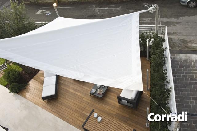 Vele ombreggianti tc tenda vendita di tende da sole tende da interno pergolati - Tende a vela da esterno ...